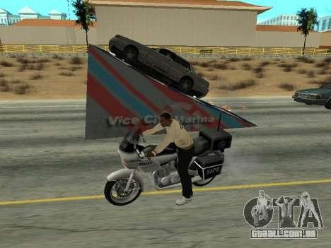 Saltos para GTA San Andreas segunda tela