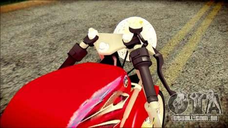 Yamaha Scorpio Z para GTA San Andreas vista traseira