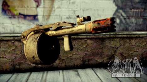 Rumble 6 Combat Shotgun para GTA San Andreas