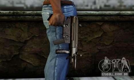 MP5K From LCS para GTA San Andreas terceira tela