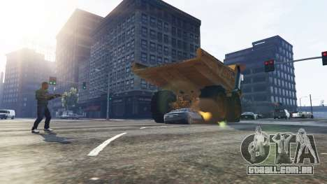 GTA 5 Vehicle Cannon terceiro screenshot