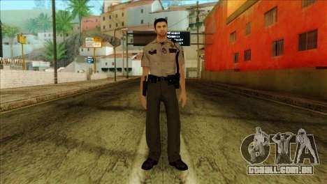 Depurty Alex Shepherd Skin without Flashlight para GTA San Andreas