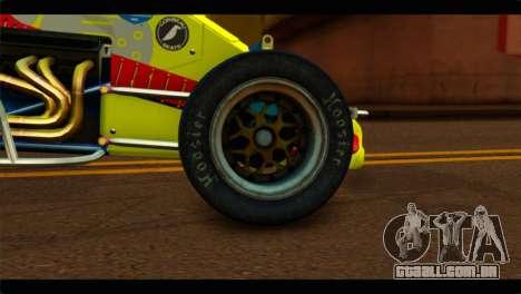 Larock Sprinter para GTA San Andreas traseira esquerda vista