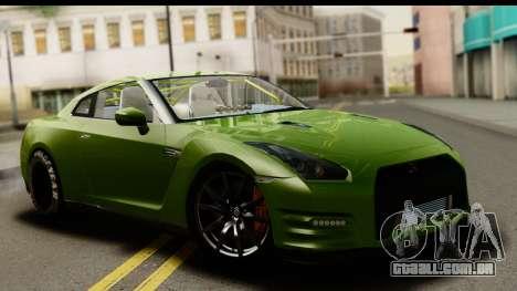 Nissan GT-R Dragster para GTA San Andreas
