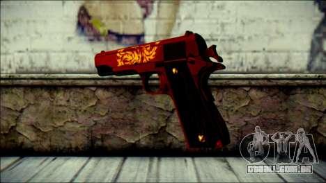 Dual Colt Red Dragon CF para GTA San Andreas segunda tela