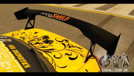 Nissan Silvia S15 Kagamine Rin Itasha para GTA San Andreas vista traseira