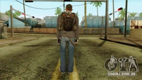 Technician from PMC para GTA San Andreas segunda tela