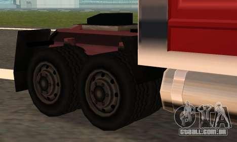 PS2 Linerunner para GTA San Andreas vista traseira