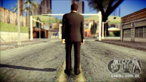 Tony Stark Skin para GTA San Andreas segunda tela