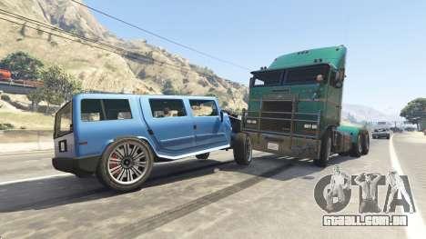 GTA 5 Pesados, autocarros e camiões quinta imagem de tela