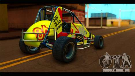 Larock Sprinter para GTA San Andreas esquerda vista