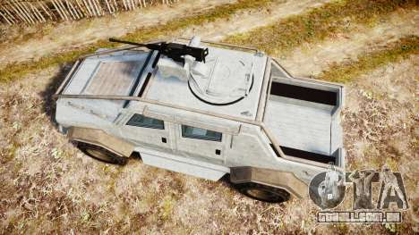 GTA V HVY Insurgent Pick-Up para GTA 4