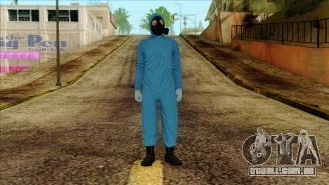 Skin 1 from Heists GTA Online DLC para GTA San Andreas