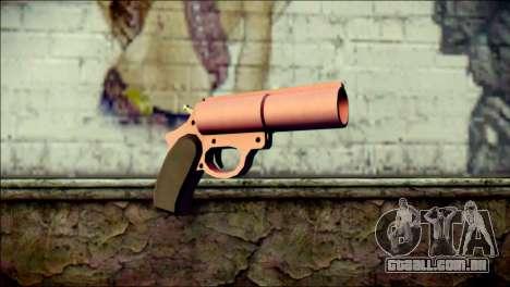 Pink Lanza Bengalas from GTA 5 para GTA San Andreas