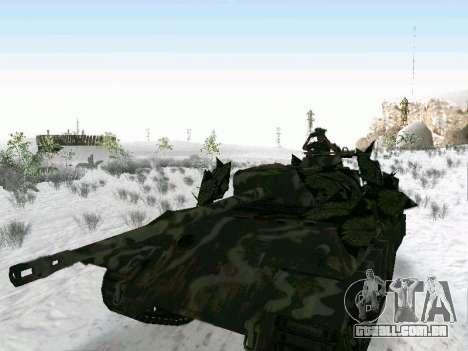 Panther para GTA San Andreas vista traseira