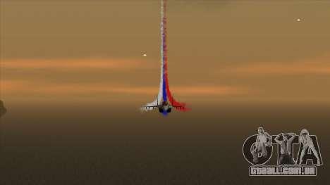 A bandeira da Rússia para aviões para GTA San Andreas