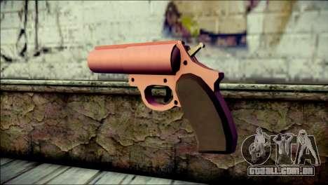 Pink Lanza Bengalas from GTA 5 para GTA San Andreas segunda tela