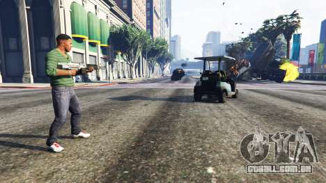 GTA 5 Vehicle Cannon segundo screenshot