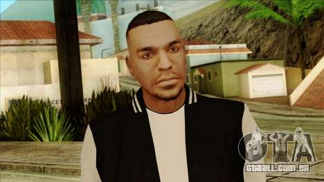 Luis Skin from GTA 5 para GTA San Andreas terceira tela