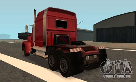 PS2 Linerunner para GTA San Andreas esquerda vista