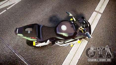 Honda CBR600RR Stunt para GTA 4 vista direita