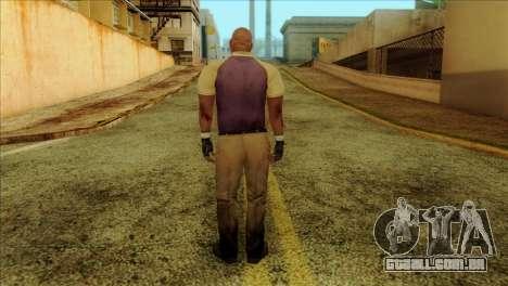 Coach from Left 4 Dead 2 para GTA San Andreas segunda tela