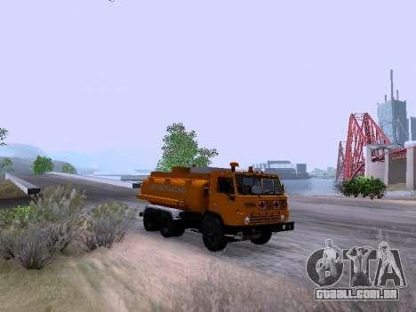 KamAZ 53212 para GTA San Andreas traseira esquerda vista