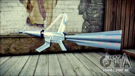 Laser Gun para GTA San Andreas segunda tela
