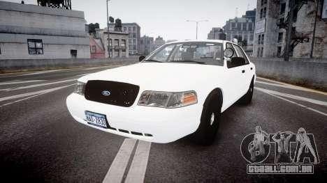 Ford Crown Victoria LCPD Unmarked [ELS] para GTA 4