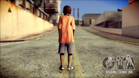 Madison Child Skin para GTA San Andreas segunda tela
