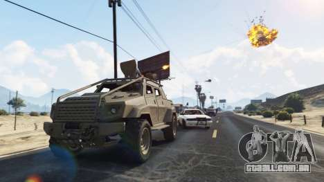 GTA 5 Control Heist Vehicles Solo v1.3 quarto screenshot