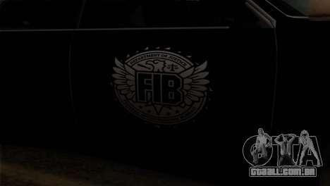 Sultan FIB para GTA San Andreas vista traseira