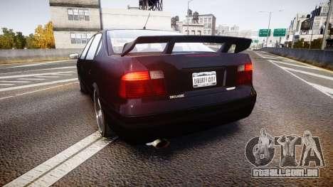Declasse Merit GTO para GTA 4 traseira esquerda vista