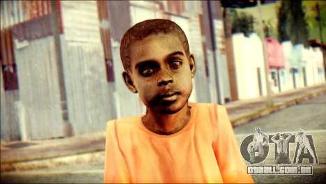 Madison Child Skin para GTA San Andreas terceira tela