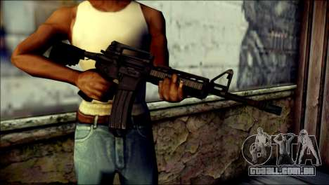 Rumble 6 Assault Rifle para GTA San Andreas terceira tela