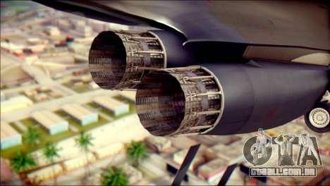 B-1B Lancer Camo Texture para GTA San Andreas vista direita