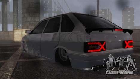 2114 para GTA 4 traseira esquerda vista