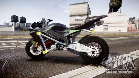 Honda CBR600RR Stunt para GTA 4 esquerda vista