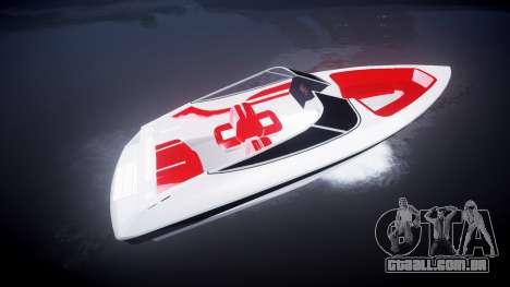 Velocidade barco para GTA 4 esquerda vista