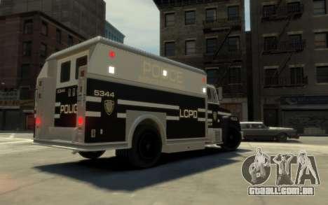 GTA 3 Enforcer HD para GTA 4 esquerda vista