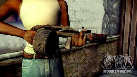 Rumble 6 Combat Shotgun para GTA San Andreas terceira tela