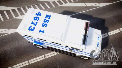 GTA V Brute Police Riot [ELS] skin 4 para GTA 4 vista direita