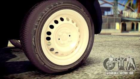 Mitsubishi Pajero Sport Dakar para GTA San Andreas traseira esquerda vista
