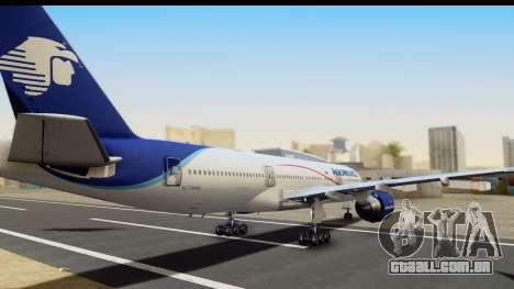 Boeing 777-200ER AeroMexico para GTA San Andreas esquerda vista