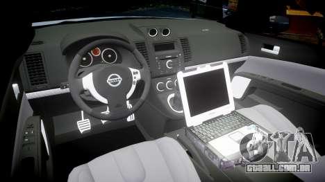 Nissan Altima Hybrid NYPD para GTA 4 vista interior
