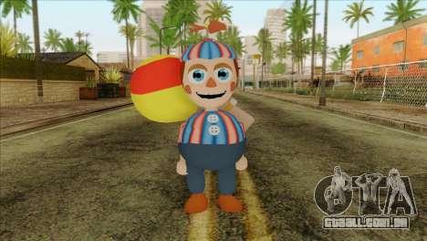 Balloon Boy from Five Nights at Freddys 2 para GTA San Andreas