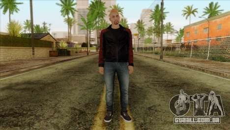 Skin 4 from Heists GTA Online DLC para GTA San Andreas