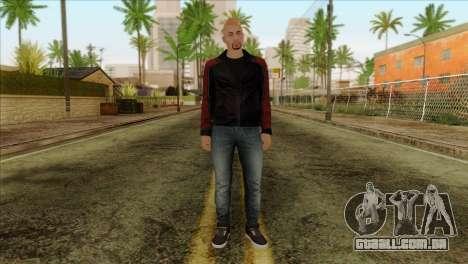 Skin 4 from Heists GTA Online DLC para GTA San Andreas