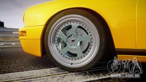RUF CTR Yellow Bird para GTA 4 vista de volta