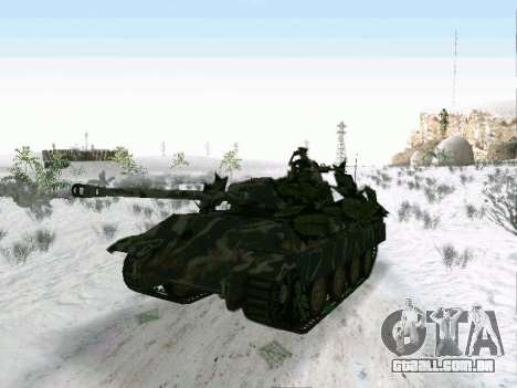 Panther para GTA San Andreas esquerda vista